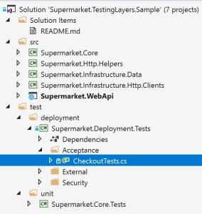 Solution Explorer Acceptance Tests