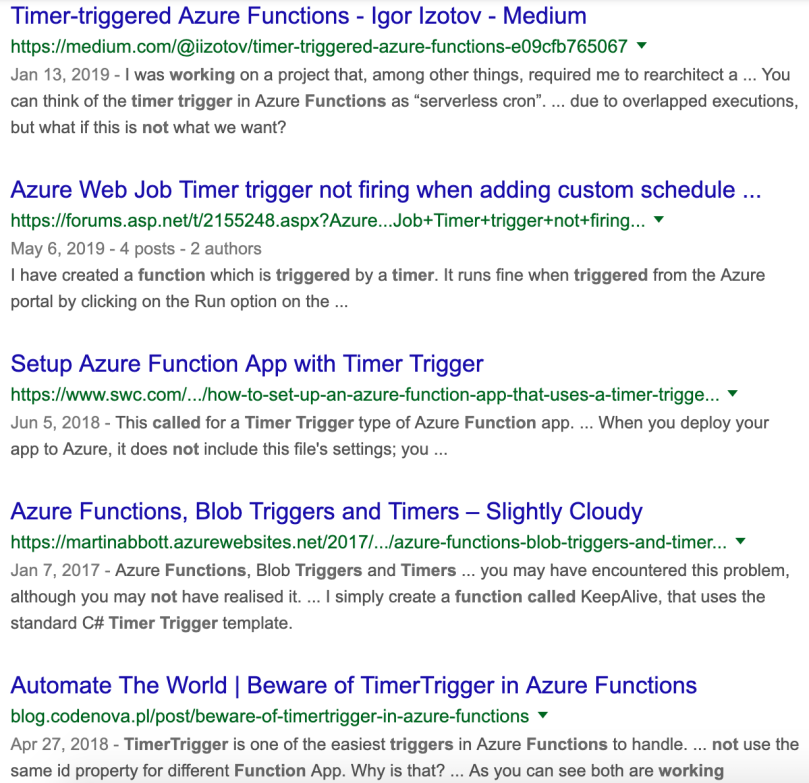 Azure Function Http Trigger Post